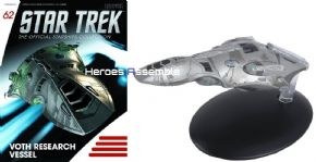Star Trek Official Starships Collection #062 Voth Research Vessel Eaglemoss